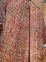Hand made Merino wool shawl by Alison Wright