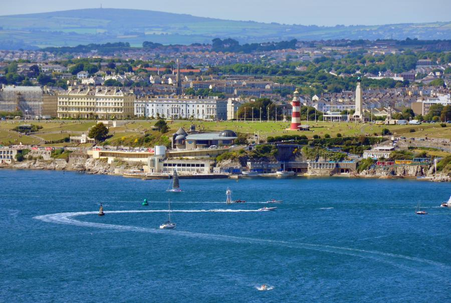 Plymouth Sound & Hoe